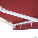 Offene Gelenkarmmarkise Eco-Luxe im Alucolor Schauraum Wien