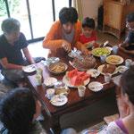 幸弥2歳の誕生日の食事会