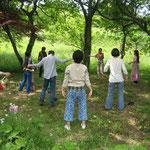森のワークショップ・リラクゼーション体操