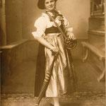 Musi Rietz Marketenderin 1909