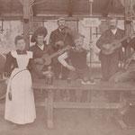 Fasnacht in Rietz um 1900