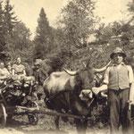 Witsch Rosa, Maria und Alois 1938