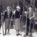 Rietzer Wintersportverein - Mader Hans und Anna 1935