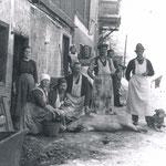 Beim Metzger 1925
