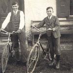 Josef Mader und Josef Plattner 1930
