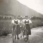 Fanny Feistmantel und Berta Perkhofer 1940