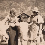 Ochsengespann um 1940