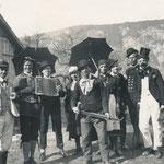 Fasnacht in Rietz um 1955
