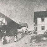 Rietz Poststelle im Platzl 1910