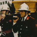 Feuerwehr Rietz - Begräbnis Pfarrer Ennemoser 1981