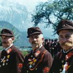 Feuerwehr Rietz - Ehrung 1962