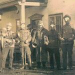 Fasnacht in Rietz um 1935