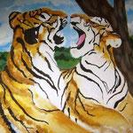 Tiger Kraft und Anmut