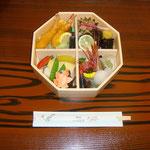 山神温泉 湯乃元館での昼食