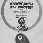 Dentifrice Gibbs - magazine Mode du jour du 18 décembre 1941