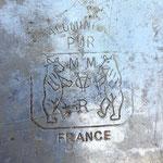 Gamelle 1935 marquage MM CVR + Logo 2 ours + FRANCE