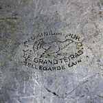 Gamelle 1935 marquage le grand Tetras