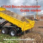 Bauschuttmulde, Abrollcontainer, Hakenlift, Traktor Osttirol