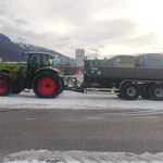 Frontlader Claas Axion 850 Baumaschinenverleih
