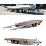 Autotransporter Abschleppanhänger Fahrzeugtransporter