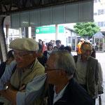 新潟駅に集合
