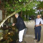 2.玉作湯神社願い石