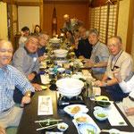 宇和島にて大宴会