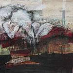 Kleine Heimkehr, 2010, Collage, 39 x 28,5 cm, verkauft