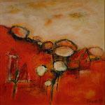 Am Wegesrand, 2014, Acryl auf Leinwand, 50x50cm,verkauft