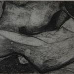 Landschaft, 2004, Radierung, 20x15cm