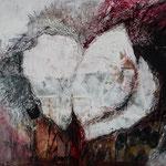 Blüte II, 2015 Collage, verkauft