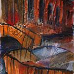 Canale Misericordia, 2007, Collage auf Hartfaserplatte, 50x70cm