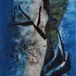 Harlekin, 2006, Collage, ca. 35 x 50 cm