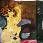 ohne Titel, 2005, Collage, 90 x 21 cm, verkauft