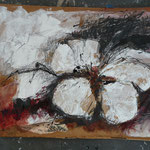 Kirschblüte II, 2015 Collage