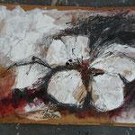Kirschblüte II, 2015 Collage, verkauft