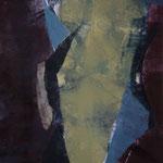 ohne Titel, 2006, Monotypie, ca. 35 x 50 cm