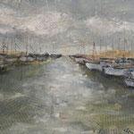 Hafen, 2018, Collage, verkauft