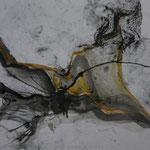 Wüste II, 2008, Tuschezeichnung, 42x29,7cm