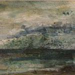 Kattegatt II, 2013, Acryl auf Leinwand, 60x20cm