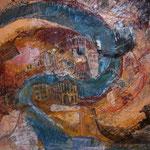 Canal Grande, 2006, Mischtechnik/Collage, 110x85cm, unverkäuflich