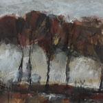 Herbst, 2017, MT/Collage auf Karton,32,5x22,5cm, verschenkt