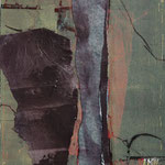 ohne Titel, 2006, Collage/Holzschnitt, 25 x 35 cm, verkauft
