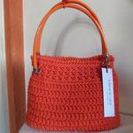 mod. 188 - euro 50,00 - cordino arancio con fondo rigido in vernice arancio