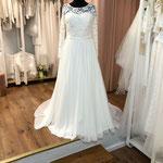 Brautkleid, Hochzeitskleid, Vintage,  Chiffonrock,  Gr. 42, 46  Musterkleid 550,00 Euro