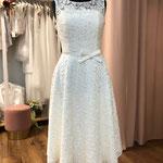 Brautkleid, Hochzeitskleid, Standesamt , Vintage, kurz Gr. 38Musterkleid