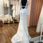 Brautkleid, Hochzeitskleid Gr. 36,  Vintage, Boho,  lange Ärmel, NEU und ungetragen