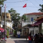 Innerstädtischer Grenzübergang (Checkpoint) Ledra Street