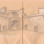 Burghof Alcazaba, Almeria