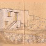 Häuser der Samariaschluchtwache